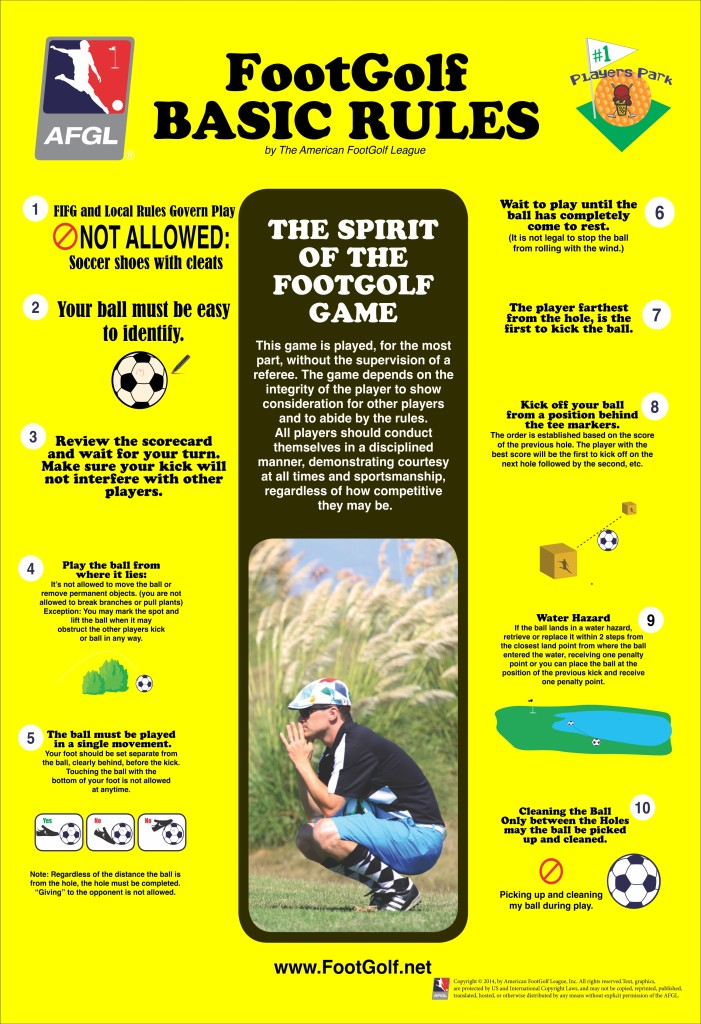 Footgolf Rules